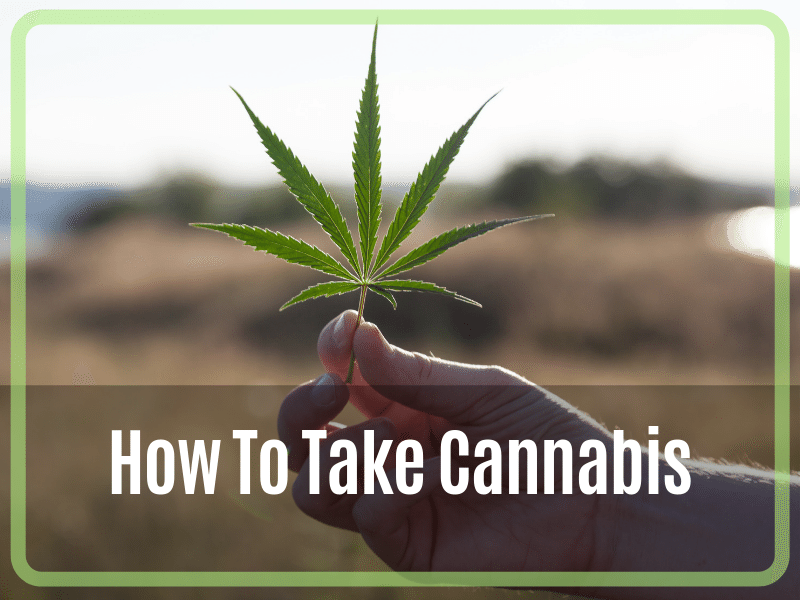 How To Take Cannabis